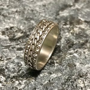 Sterling Silver Ring, 7